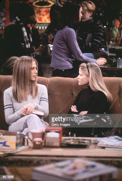 Jennifer Aniston and Reese Witherspoon in 'Friends' Photo credit Warner Bros