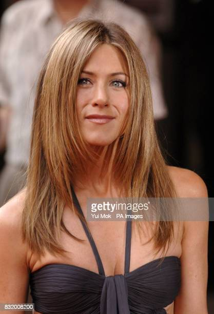 Jennifer Aniston arriving
