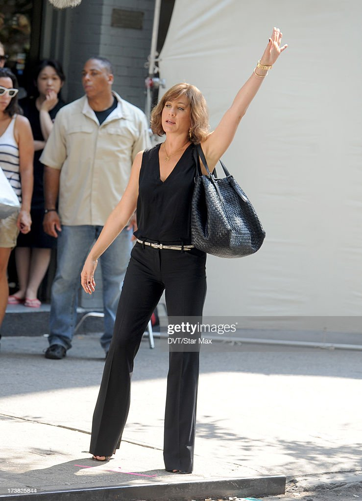 Jennifer Aniston as seen on July 17, 2013 in New York City.