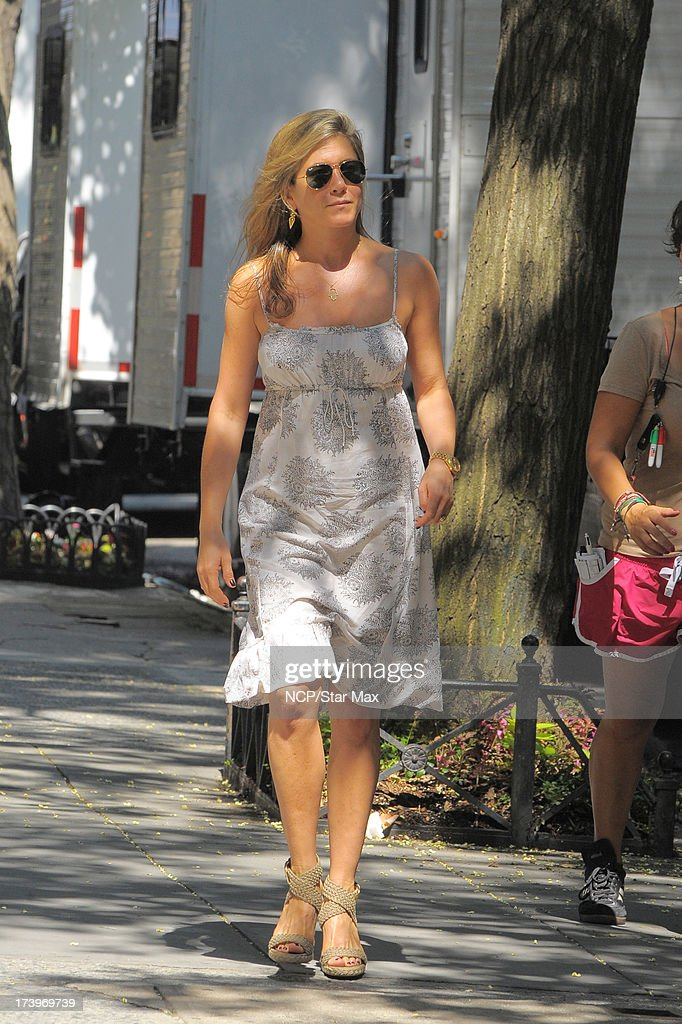 Jennifer Aniston as seen on July 18, 2013 in New York City.