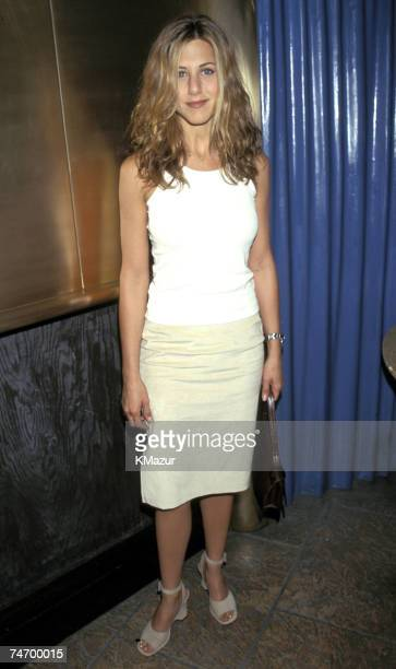 Jennifer Aniston at the Planet Hollywood in New York City New York