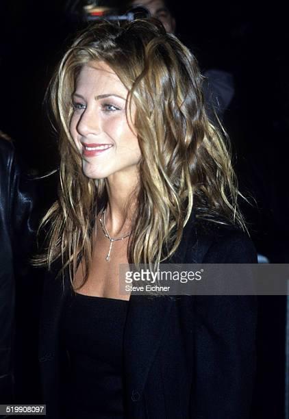 Jennifer Aniston attends premiere of 'Meet Joe Black' New York November 2 1998