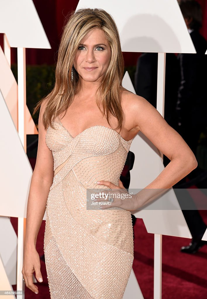 Jennifer Aniston attends the 87th Annual Academy Awards at Hollywood Highland Center on February 22 2015 in Hollywood California