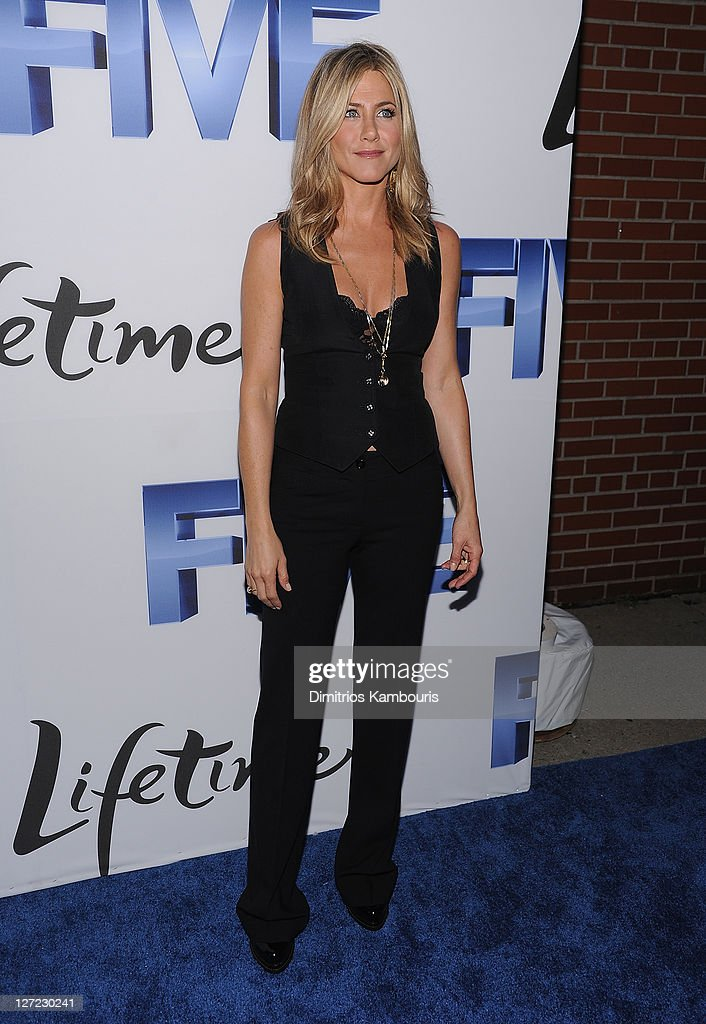 Jennifer Aniston attends the screening of 'Five' at Skylight SOHO on September 26, 2011 in New York City.