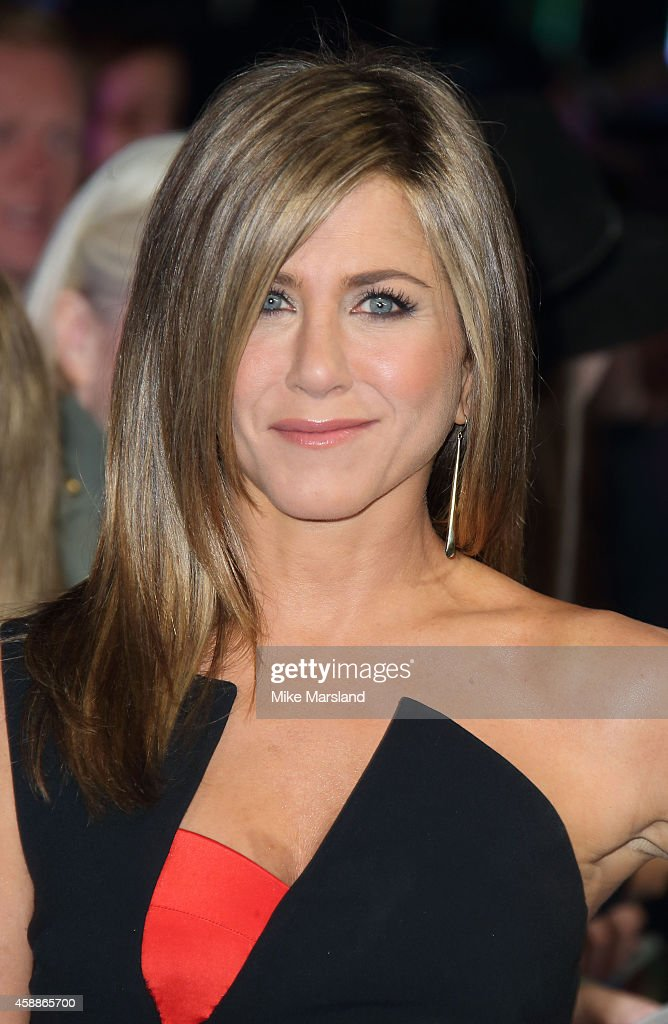 Jennifer Aniston attends the UK Premiere of 'Horrible Bosses 2' at Odeon West End on November 12 2014 in London England