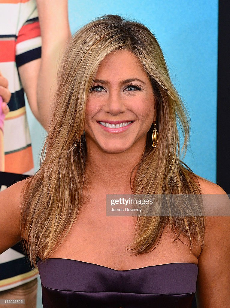 Jennifer Aniston attends the 'We're The Millers' New York Premiere at Ziegfeld Theater on August 1 2013 in New York City
