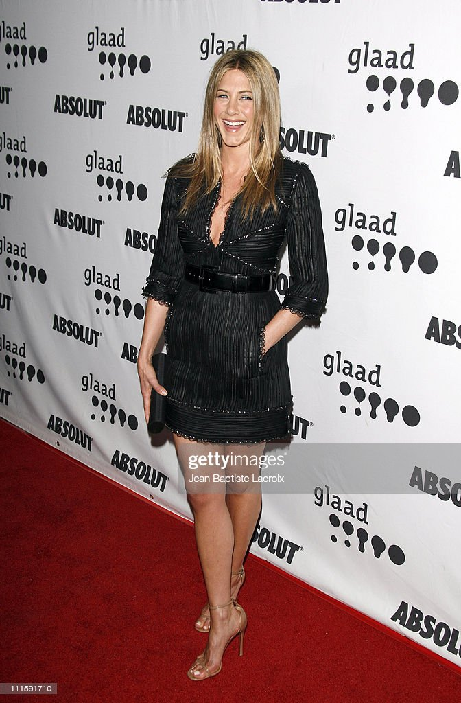 Jennifer Aniston during 18th Annual GLAAD Media Awards - Los Angeles - Arrivals at Kodak Theatre in Hollywood, California, United States.