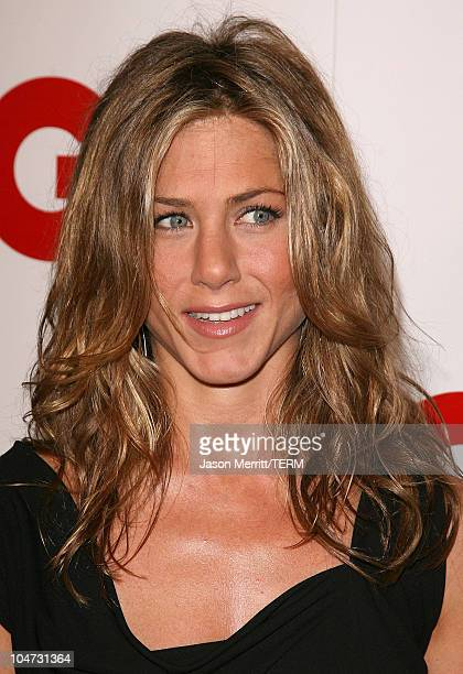 Jennifer Aniston during GQ Celebrates 2005 Men of the Year Arrivals at Mr Chow in Beverly Hills California United States