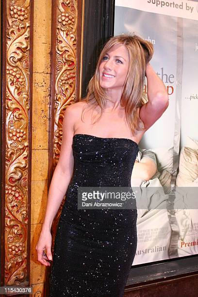 Jennifer Aniston during 'The Break Up' Sydney Premiere at State Theatre in Sydney NSW Australia