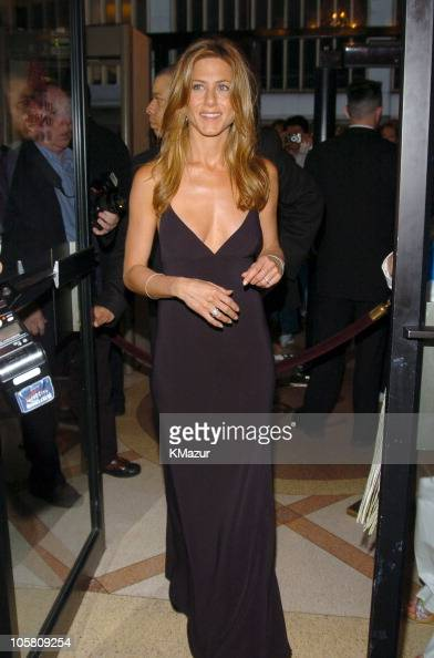 Jennifer Aniston during 'Troy' New York Premiere Inside Arrivals at Zeigfeld Theater in New York City New York United States