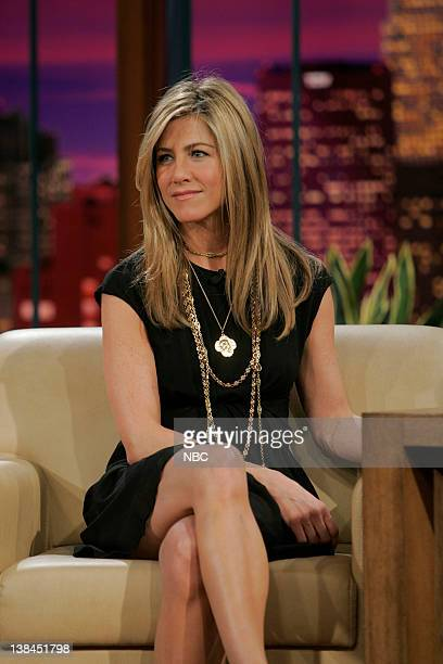LENO Jennifer Aniston Episode 3706 Air Date Pictured Actress Jennifer Aniston during an interview on February 5 2009