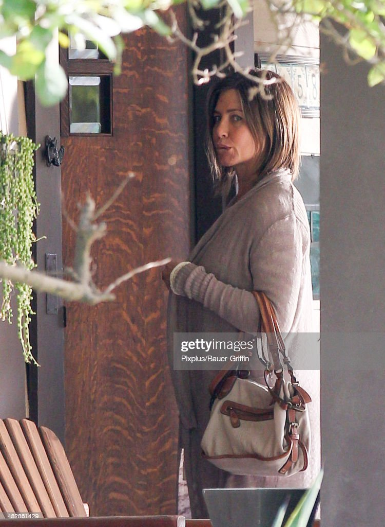 <a gi-track='captionPersonalityLinkClicked' href=/galleries/search?phrase=Jennifer+Aniston&family=editorial&specificpeople=202048 ng-click='$event.stopPropagation()'>Jennifer Aniston</a> is seen filming 'Cake' on April 04, 2014 in Los Angeles, California.