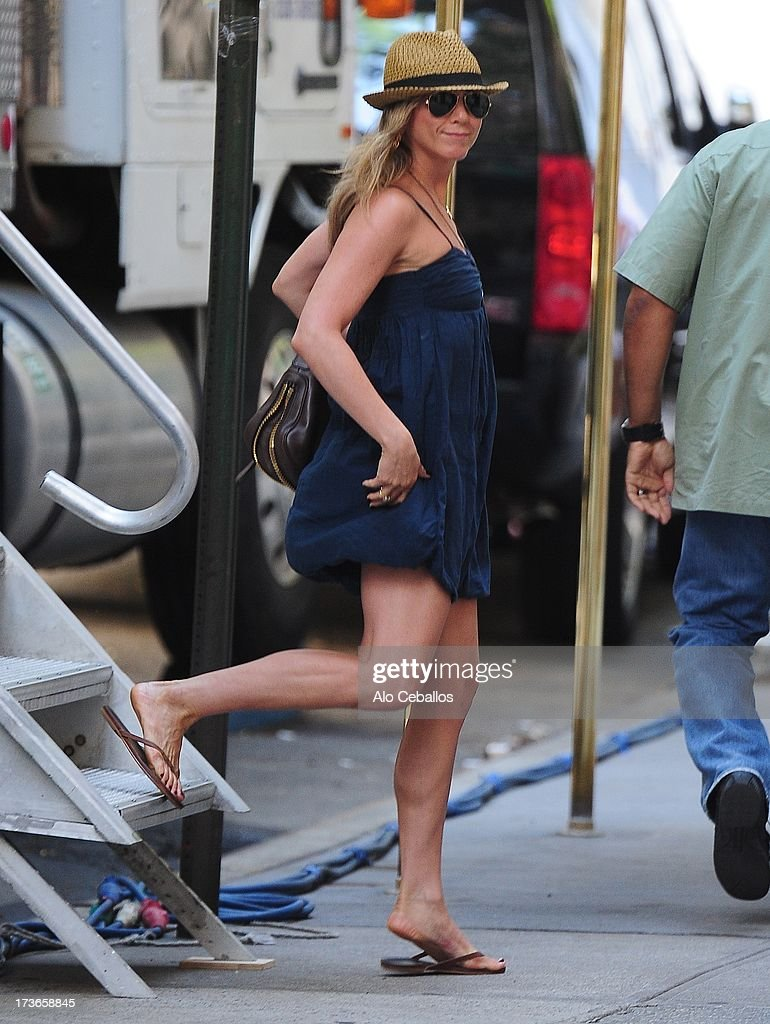 <a gi-track='captionPersonalityLinkClicked' href=/galleries/search?phrase=Jennifer+Aniston&family=editorial&specificpeople=202048 ng-click='$event.stopPropagation()'>Jennifer Aniston</a> is seen in the Upper East Side on July 16, 2013 in New York City.