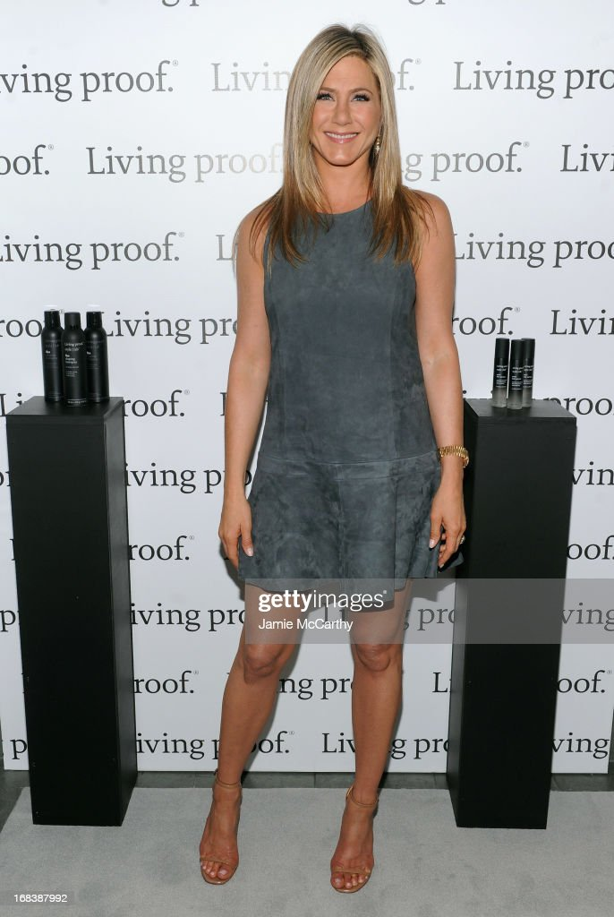 <a gi-track='captionPersonalityLinkClicked' href=/galleries/search?phrase=Jennifer+Aniston&family=editorial&specificpeople=202048 ng-click='$event.stopPropagation()'>Jennifer Aniston</a> launches Living Proof Good Hair Day Web Series at The Royalton Hotel on May 8, 2013 in New York City.