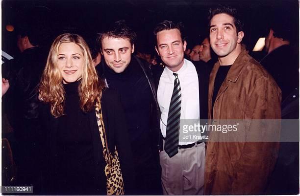 Jennifer Aniston Matt LeBlanc Matthew Perry and David Schwimmer