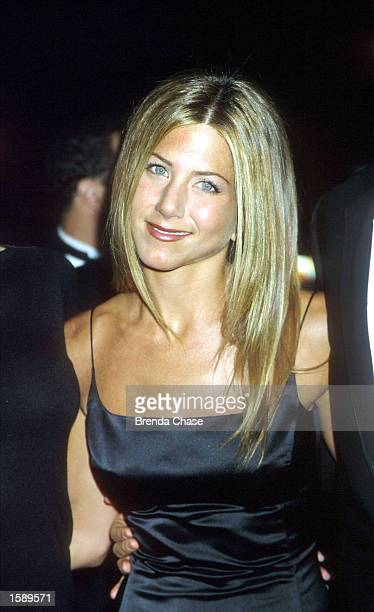 Jennifer Aniston of the television show 'Friends' attends the 26th Annual People's Choice Awards in Pasadena California January 9 2000