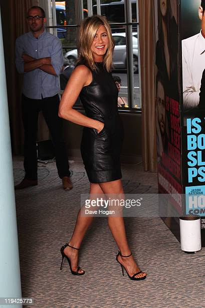 Jennifer Aniston poses for a photocall to promote the UK release of Horrible Bosses at The Dorchester on July 20 2011 in London England