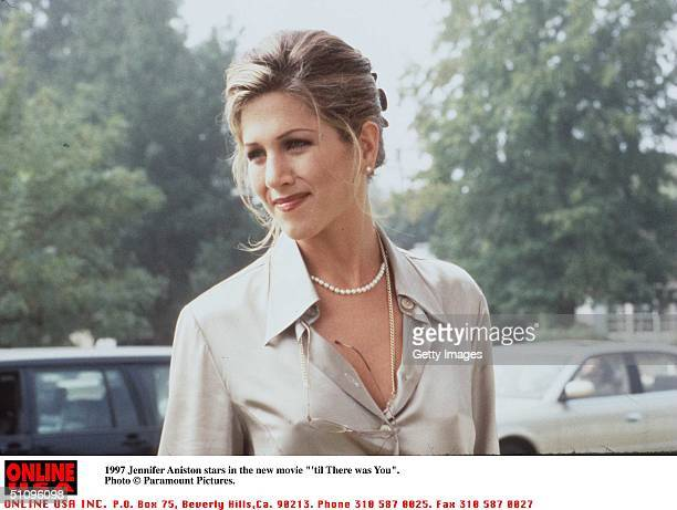 Jennifer Aniston Stars In The Movie 'Til There Was You'