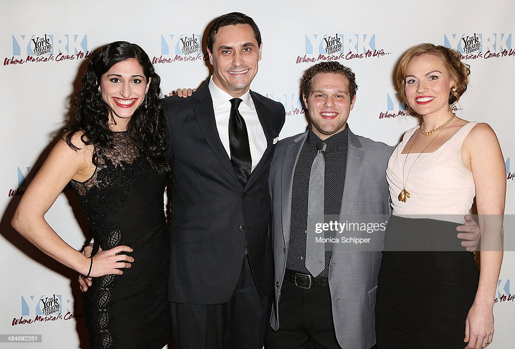 Jennifer Apple, David Shenton, Stephen Anthony and Tiffan Borelli attends the 22nd annual Oscar Hammerstein Award gala at The Hudson Theatre on December 9, 2013 in New York City.