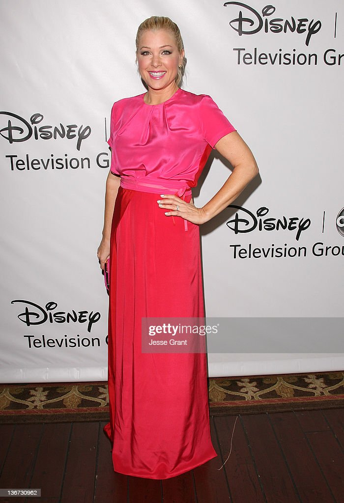 Jennifer Aspen arrives to Disney ABC Television Group's 'TCA Winter Press Tour' at the Langham Huntington Hotel on January 10, 2012 in Pasadena, California.