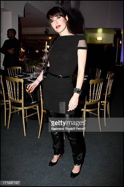 Jennifer Ayache at The Charity Dinner Held In Association With Otm In Aid Of Rwandan Children At L'Espace Pierre Cardin In Paris