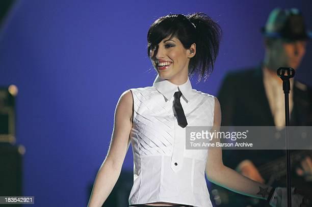 Jennifer Ayache of Superbus during 2007 Victoires de la Musique Show at Zenith de Paris in Paris France