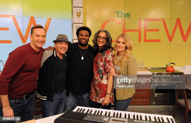 THE CHEW Jennifer Beals and Craig Robinson are the guests today Wednesday March 1 2017 on ABC's 'The Chew' 'The Chew' airs MONDAY FRIDAY on the ABC...