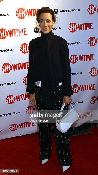 Jennifer Beals at the Motorolasponsored San Francisco premiere of Showtime's 'Queer as Folk'
