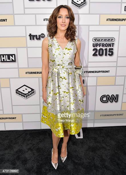 Jennifer Beals attends the Turner Upfront 2015 at Madison Square Garden on May 13 2015 in New York City 25201_002_TW_0273JPG