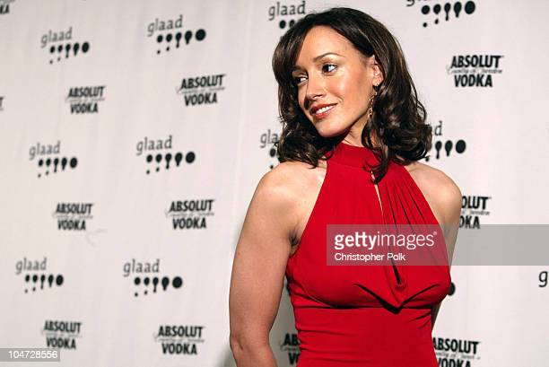 Jennifer Beals during 14th Annual GLAAD Media Awards Los Angeles at Kodak Theatre in Hollywood California United States