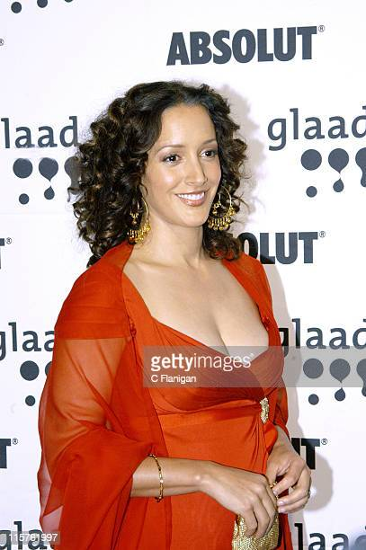 Jennifer Beals during 16th Annual GLAAD Media Awards at Fort Mason Center in San Francisco California United States