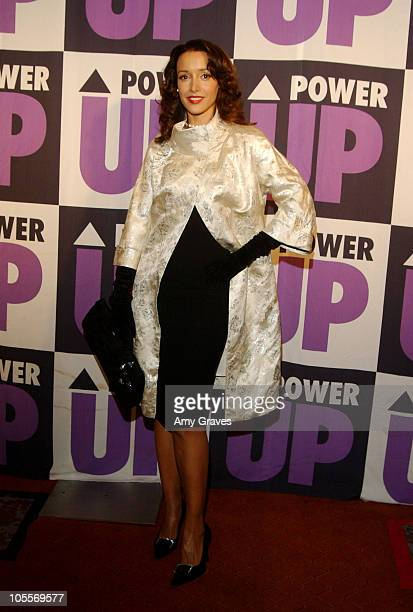 Jennifer Beals during 4th Annual Power Up Premiere Gala at Park Plaza Hotel in Los Angeles California United States
