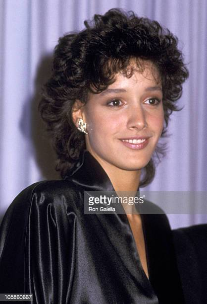 Jennifer Beals during 56th Annual Academy Awards at Dorothy Chandler Pavilion in Los Angeles California United States