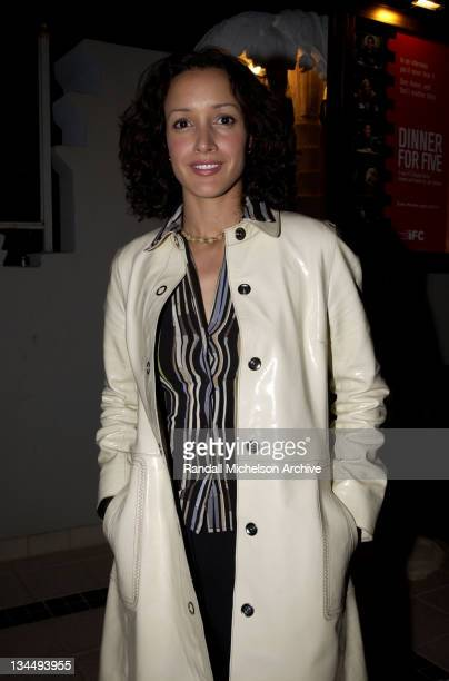 Jennifer Beals during Independent Film Channel 'Dinner For Five' Launch Party at Argyle Hotel in Los Angeles California United States