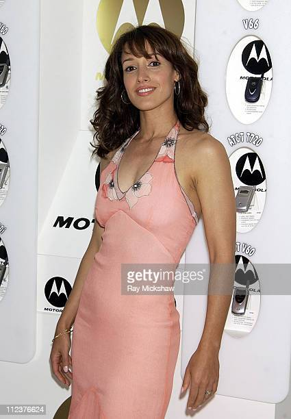 Jennifer Beals during Motorola Suite at the 18th Annual IFP Independent Spirit Awards at Santa Monica Beach in Santa Monica California United States