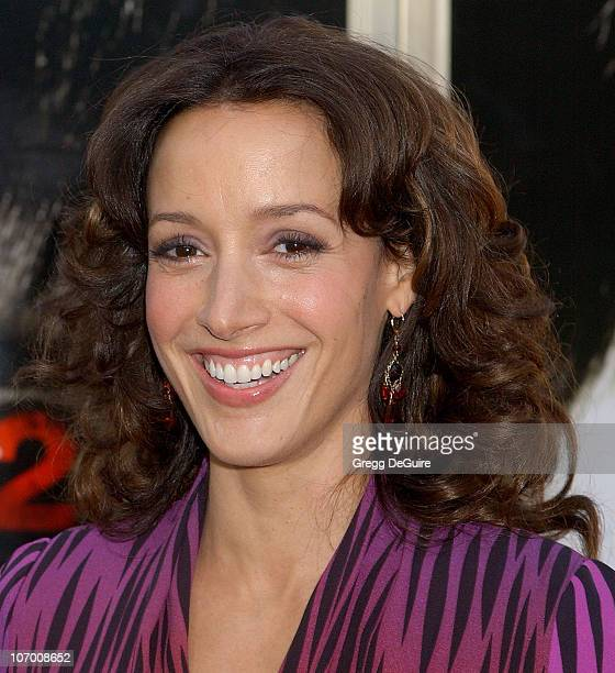 Jennifer Beals during 'The Grudge 2' Los Angeles Premiere Arrivals at Knott's Scary Farm in Buena Park California United States