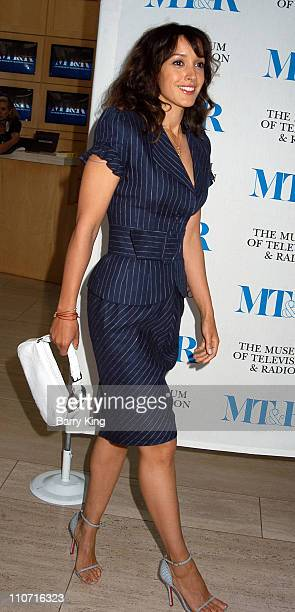 Jennifer Beals during The History of Gay and Lesbian Images on Television at The Museum of Television and Radio in Beverly Hills California United...