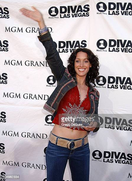 Jennifer Beals during VH1 Divas 2002 Arrivals at MGM Grand Arena in Las Vegas Nevada United States