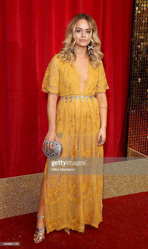 Jennifer Brooke attends the British Soap Awards 2016 at Hackney Empire on May 28, 2016 in London, England.