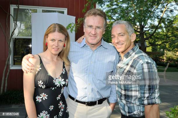 Jennifer Brooks Clark Rich Donahoe and Chris Seelig attend GODS LOVE WE DELIVERMid Summer Night Drinks Benefit at Home of Chad A Leat on June 19 2010...