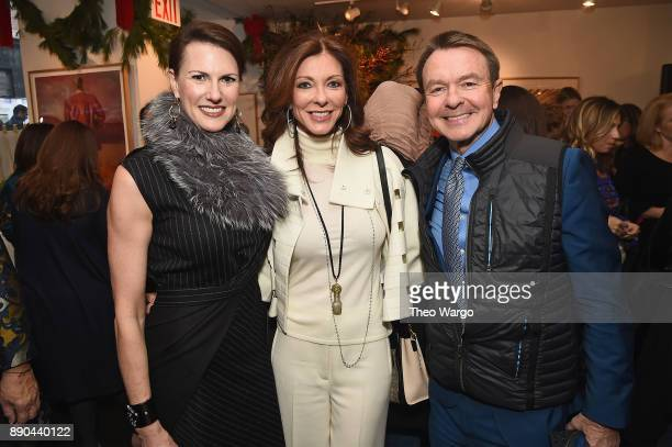 Jennifer Bruno Charlotte Jones Anderson and Michael Clinton attend the Hearst 100 at Michael's Restaurant on December 11 2017 in New York City
