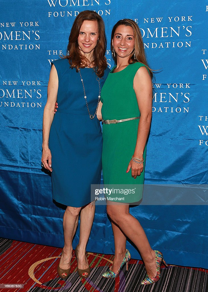 Jennifer Buffett (L) and Rachel Lloyd, Founder and CEO of Girls Educational & Mentoring Services attend The 26th Annual Celebrating Women Breakfast at The New York Marriott Marquis on May 9, 2013 in New York City.
