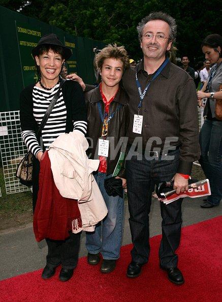 Jennifer Byrne and Andrew Denton...