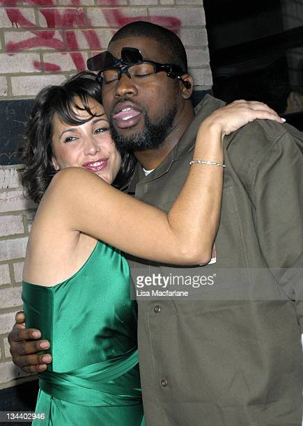 Jennifer C from the 'Apprentice' Season 2 and David Banner