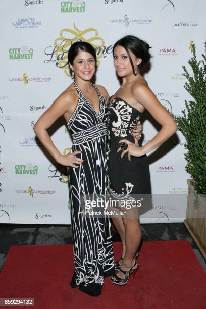 Jennifer Cardon and Lexa Michelle attend Grand Opening of La Pomme at 37 W 26th St on September 17 2009 in New York City