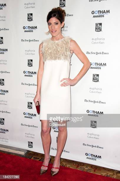 Jennifer Carpenter attends IFP's 21st annual Gotham Independent Film awards at Cipriani Wall Street on November 28 2011 in New York City