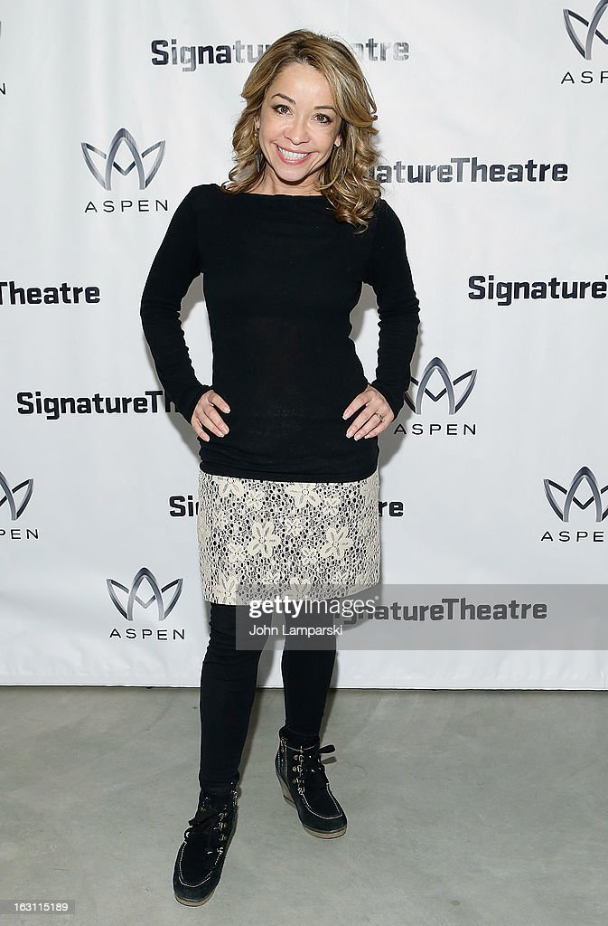 Jennifer Cody attends the 'Old Hats' Opening Night at Signature Theatre Company's The Pershing Square Signature Center on March 4, 2013 in New York City.