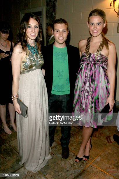 Jennifer Collins David Chines and Alixe Laughlin attend The YOUNG PATRONS CIRCLE of AMERICAN FRIENDS Hosts SOIREE AU LOUVRE at Payne Whitney Mansion...