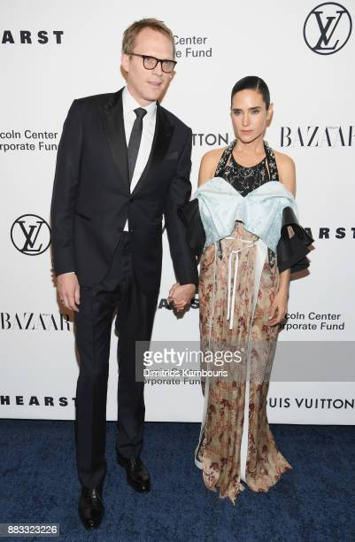 Jennifer Connelly and Austin Hearst attend An Evening Honoring Louis Vuitton and Nicolas Ghesquiere at Alice Tully Hall at Lincoln Center on November...