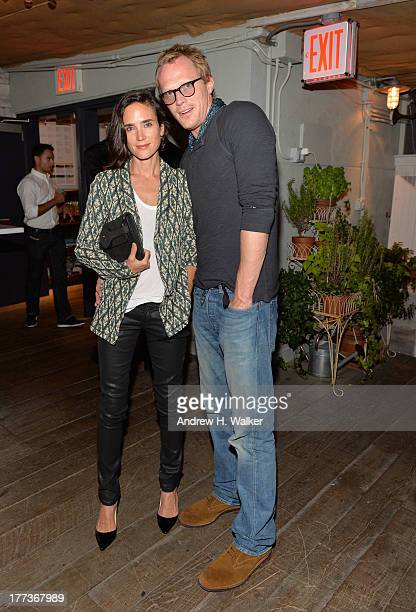 Jennifer Connelly and Paul Bettany attend Soho House New York's 10th birthday celebration with a live performance by Mumford and Sons on the roof top...